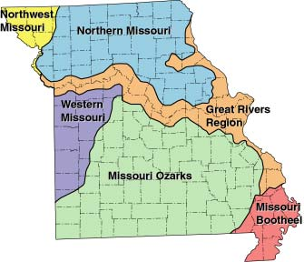 Missouri growing regions