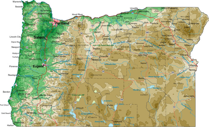 jackson county oregon map with Oregon on Editable Ppt Map Of Usa And North America in addition Multnomah County Launches Zoning Maps Website likewise Oregon likewise Carte also 25311.