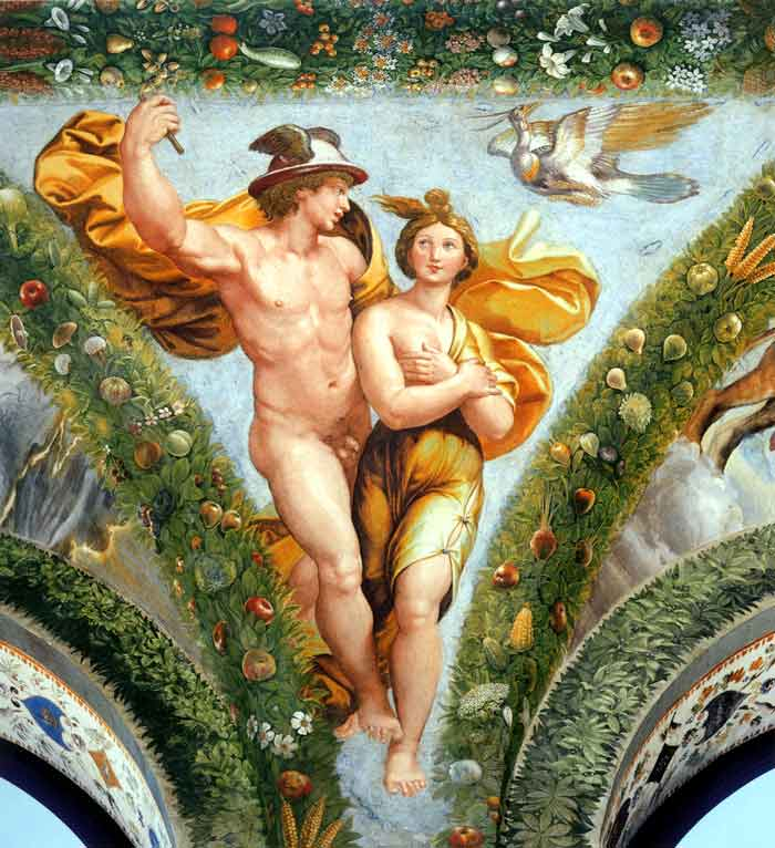 Image result for mercury and psyche pic